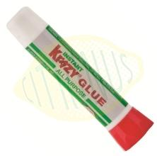 Cola instantanea cianoacrilato KrazyGlue em tubo 2ml