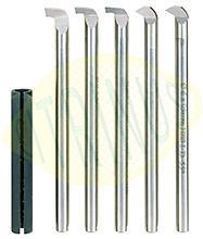 Conjunto de 5 ferros de corte para metal