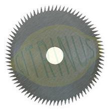 """Disco de corte 80 dentes cruzados """"Super Cut"""" para KS 230, FKS/E e KG 50"""