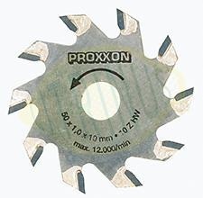 Disco de corte com 10 dentes pastilhados para as serras KS 230 e FKS/E - 50x10x1mm