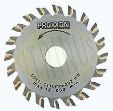 Disco de corte com 20 dentes pastilhados para as serras KS 230, FKS/E - 50x10x1mm
