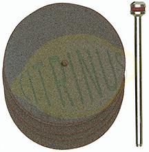 Conjunto de 5 discos de corte em Corindo 38mm