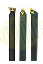 Conjunto de 3 ferros de corte com pastilhas em Tungsténio 8x8x90mm