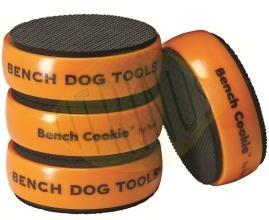 Conjunto de 4 bases antiderrapantes Bench Dog